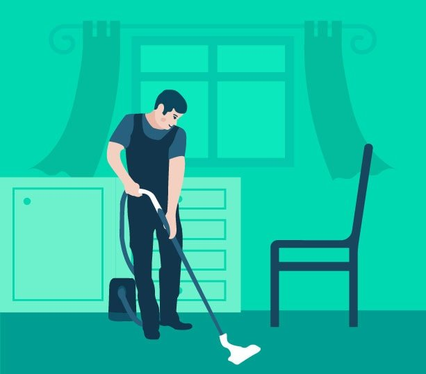 Deep cleaning in Dubai