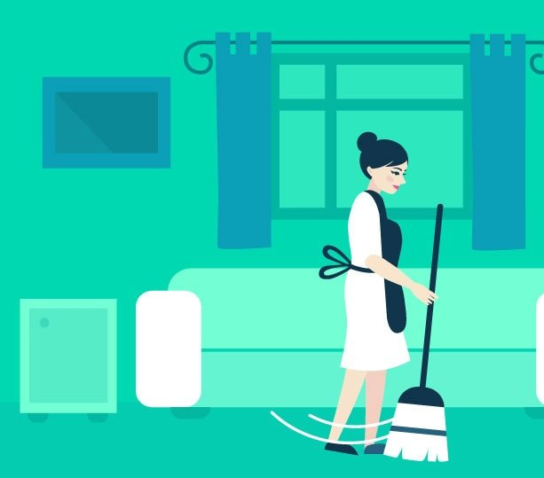 move in cleaning in Dubai